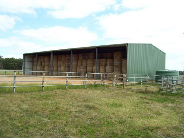 The Ideal Hay Shed