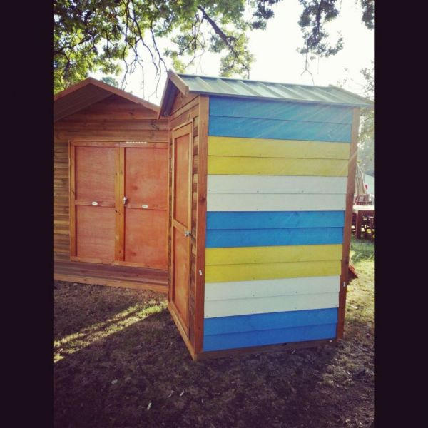 A Happy Bright Timber Shed