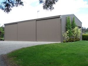Sliding Door Farm Shed