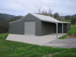 Shed with Multiple Leanto's